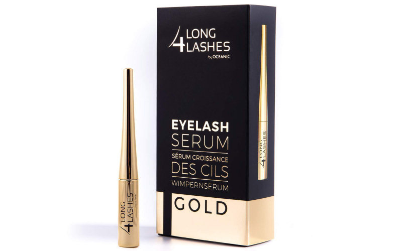 Long4Lashes Gold Wimpernserum 800